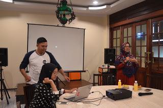 Kegiatan di akhir pekan bersama komunitas Blogger Pekanbaru