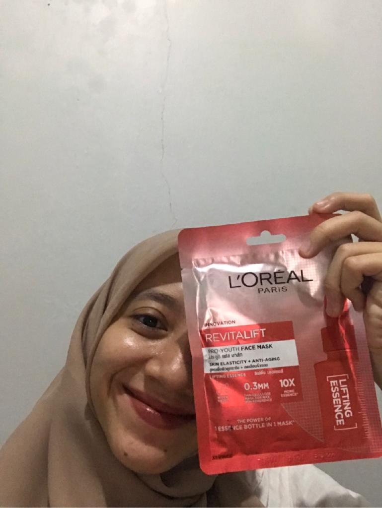 azariatika LOreal Revitalift Pro Youth Face Mask anti aging 2 - Review 3 Varian Masker Glowing LOreal Paris Revitalift Pro-Youth Face Mask, Essence-nya Melimpah!