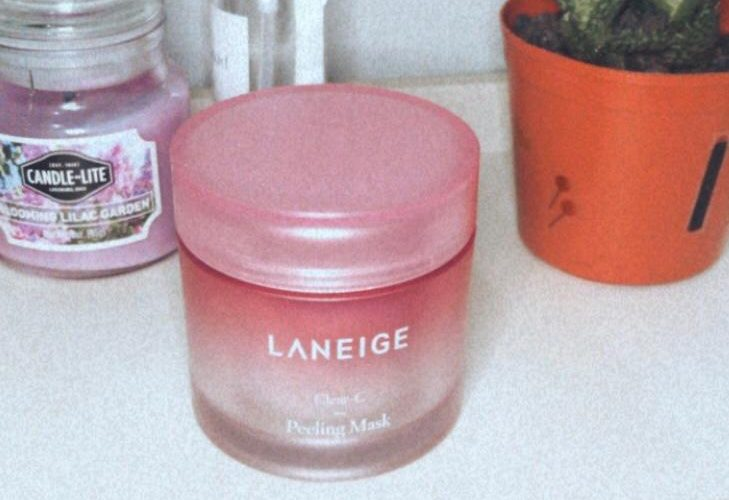 Laneige Clear-C Peeling Mask package