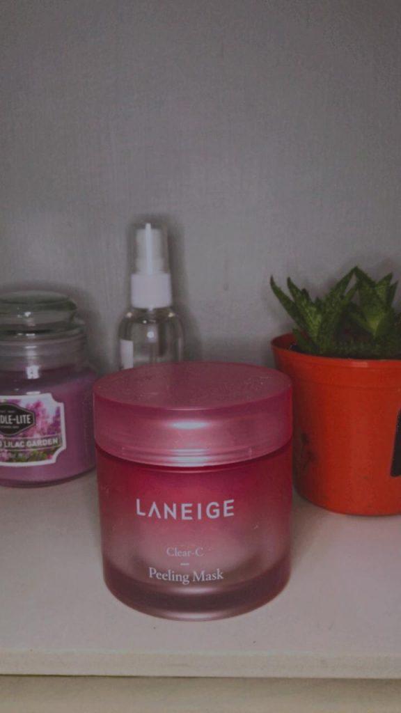azariatika laneige clear c peeling mask 1 576x1024 - Honest Review Laneige Clear-C Peeling Mask, Bikin Kulit Lembut!