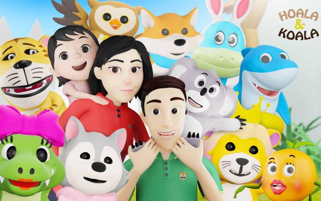 hoala dan koala 1024x642 - Lagu Anak Hoala & Koala, Video Edukasi dan Hiburan untuk Si Kecil